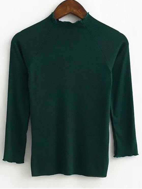 women Fitting Knitwear - BLACKISH GREEN M
