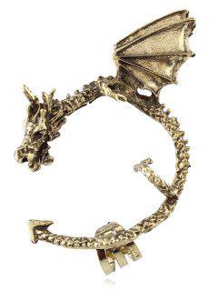 Flying Dragon Ear Cuff - Copper Color