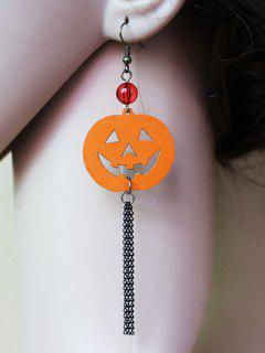 Halloween Pumpkin Earrings - Sweet Orange