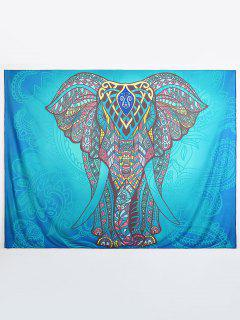 Ethnic Elephant Beach Throw - Multi L