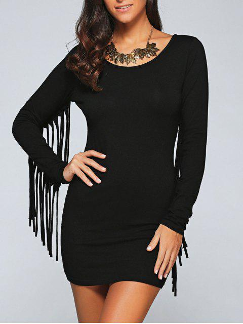 Robe Bodycon - Noir L Mobile