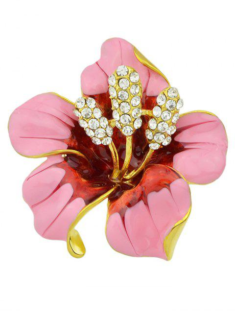 shop Rhinestone Floral Brooch -   Mobile
