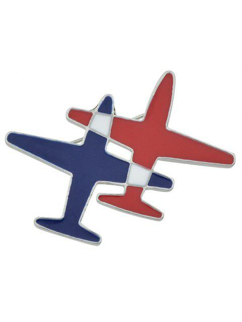 chic Flight Shape Enamel Brooch -   Mobile