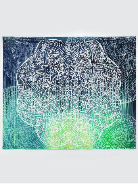 Yoga Wall Art Mat Serviette de plage - Multicolore L Mobile