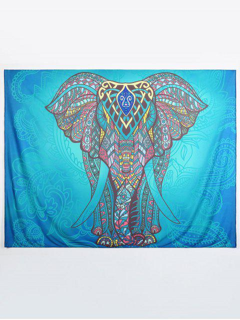 women Ethnic Elephant Beach Throw - MULTI L Mobile