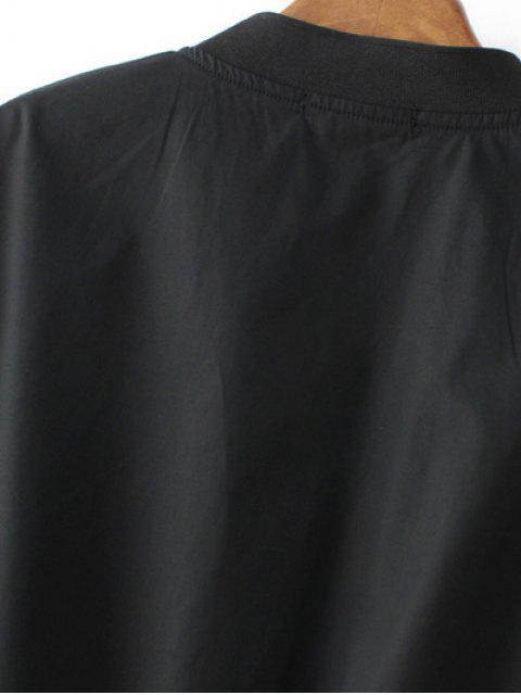 Veste de bombardière en mousse soufflée - Noir M Mobile