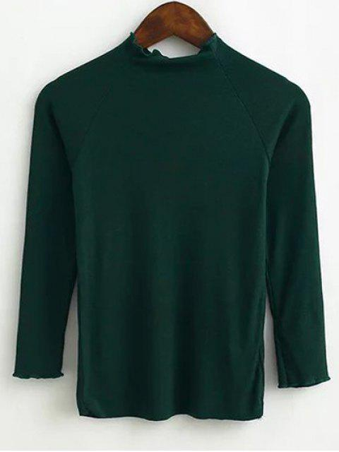 women Fitting Knitwear - BLACKISH GREEN M Mobile