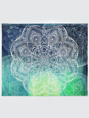 Yoga Wall Art Mat Serviette de plage
