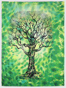 رمي الأخضر شجرة بيتش - أخضر L