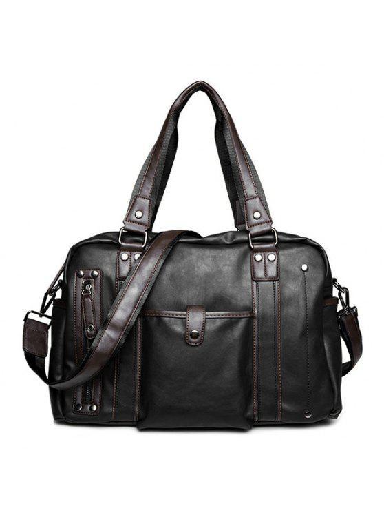 حقيبة العمل مريح معدني - أسود