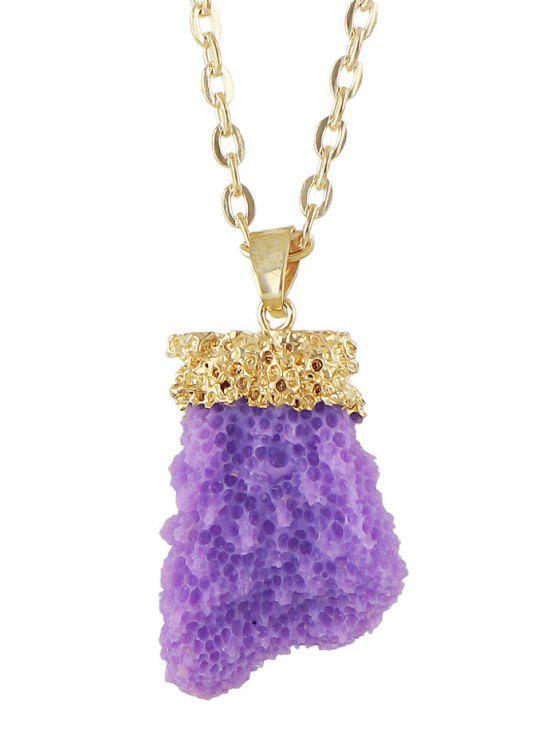 best Natural Crystal Necklace - PURPLE