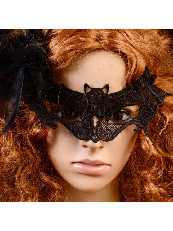 new Gothic Style Bat Lace Party Mask - BLACK