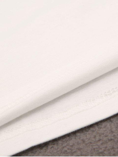 new Pineapple Pattern T-Shirt - WHITE 2XL Mobile
