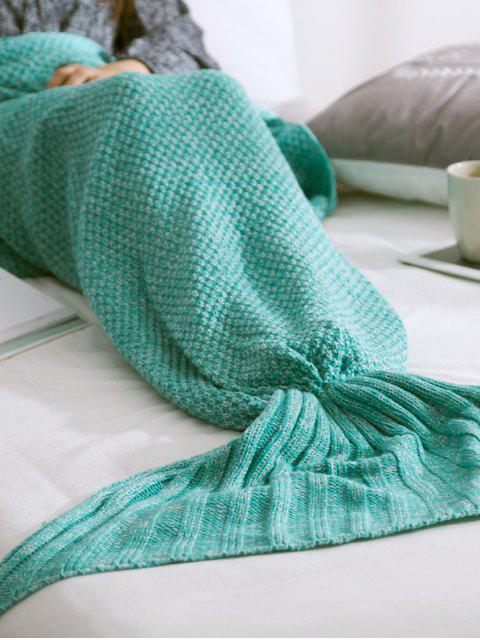 women Warmth Knitted Mermaid Tail Blanket -   Mobile