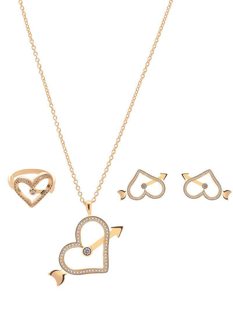 Bijoux strass catégorie Coeur Set