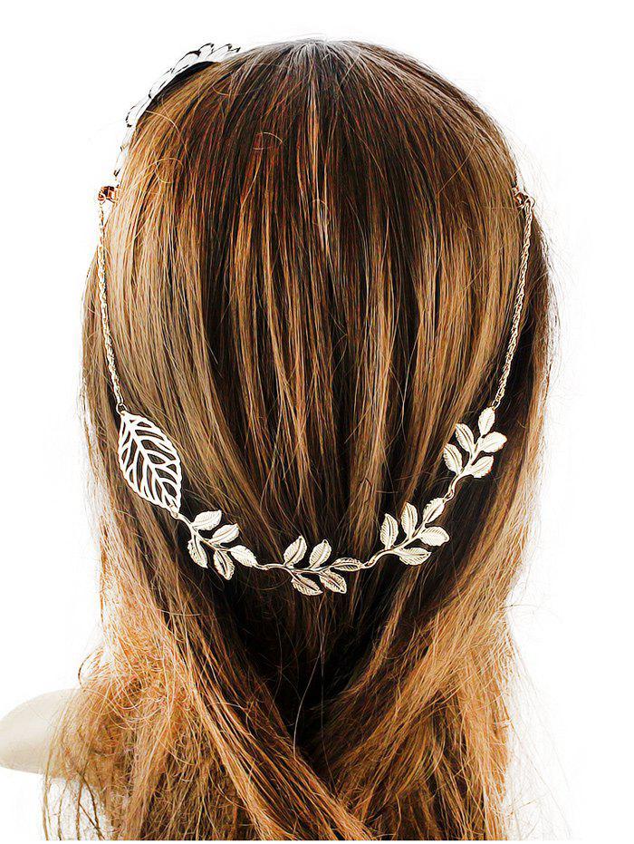 Embellished Leaf Hair Accessory