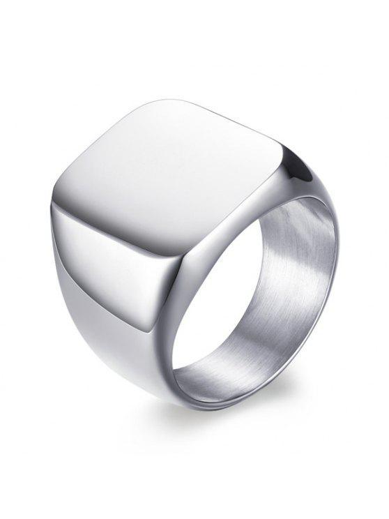 خمر الفولاذ المقاوم للصدأ عصابة هندسية - SILVER 10