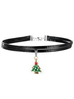 Christmas Tree Choker - Green