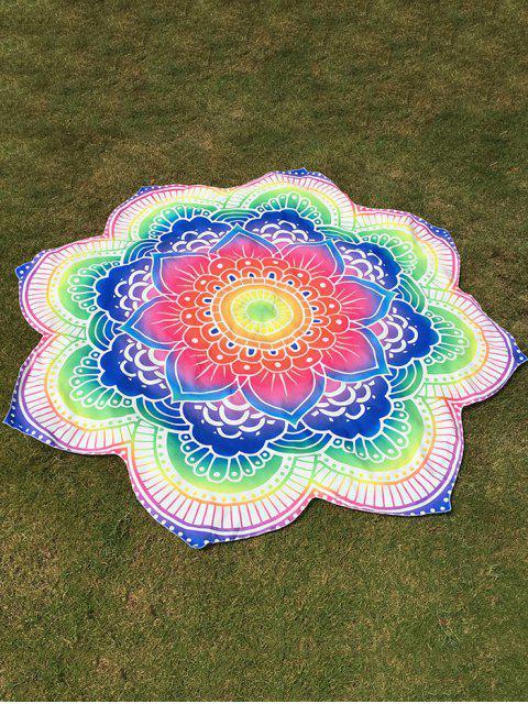 Lanzamiento de la flor brillante redondo Beach - COLORIDO Talla única Mobile