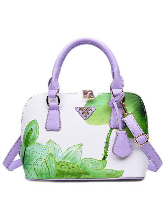 حقيبة اليد طباعة - أخضر