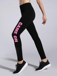 Game On High Rise Leggings - Pink M