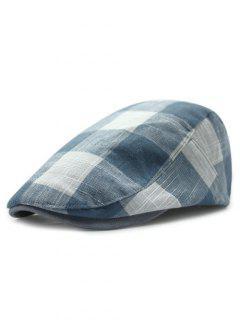 British Tartan Ivy Hat - Light Blue