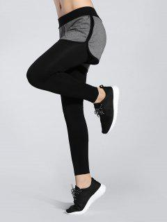 Shorts Leggings - Black