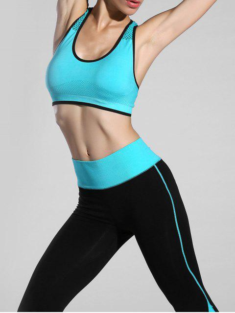 best Piped Pullover Sports Bra -   Mobile