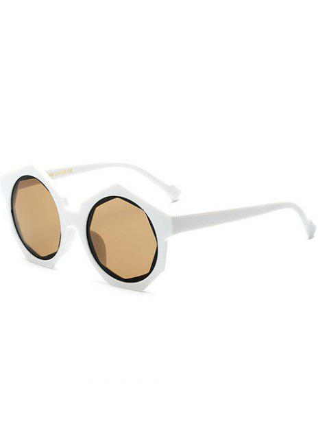 fancy Polygonal Frame Sunglasses -   Mobile