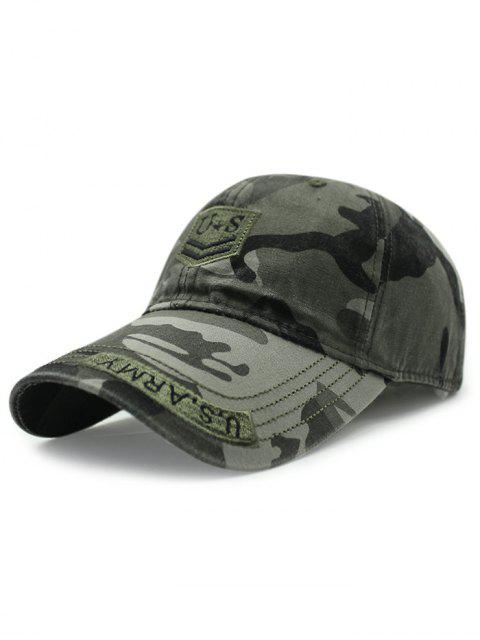 buy USA Shield Embroidery Camouflage Baseball Hat -   Mobile