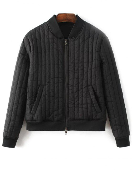 outfit Cotton-Padded Jacket - BLACK S