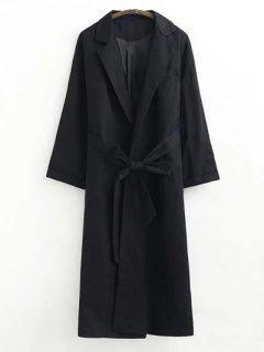 Manteau En Tricot Antidérapant - Noir S