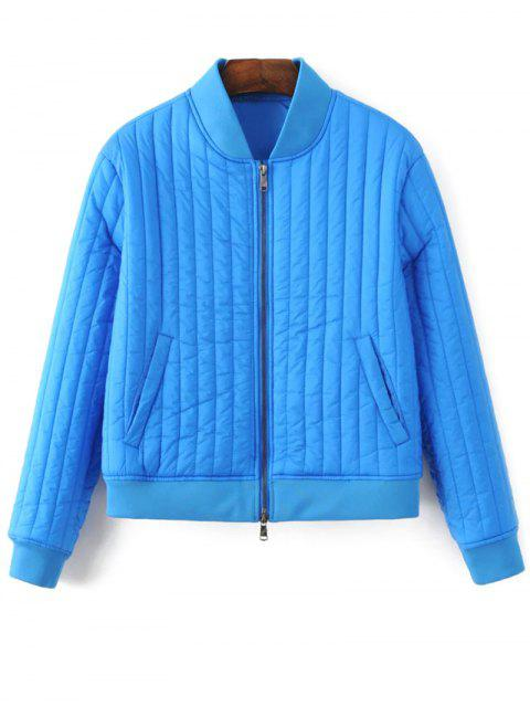 Coton-Padded Jacket - #2554C7 S Mobile