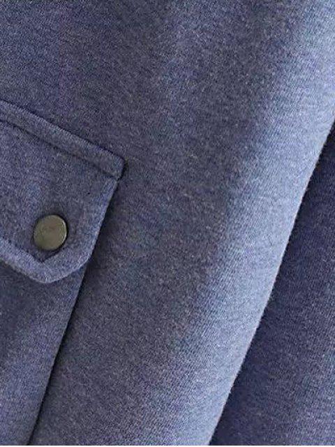 Chaîne Hoodie Pocket - Gris XL Mobile