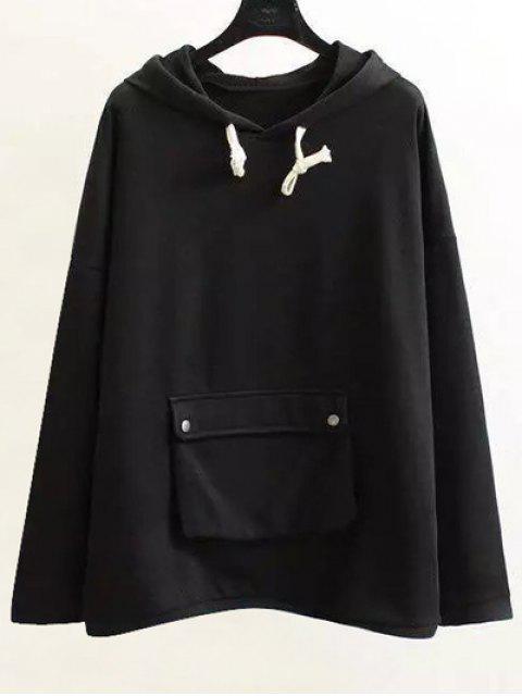 Chaîne Hoodie Pocket - Noir XL Mobile