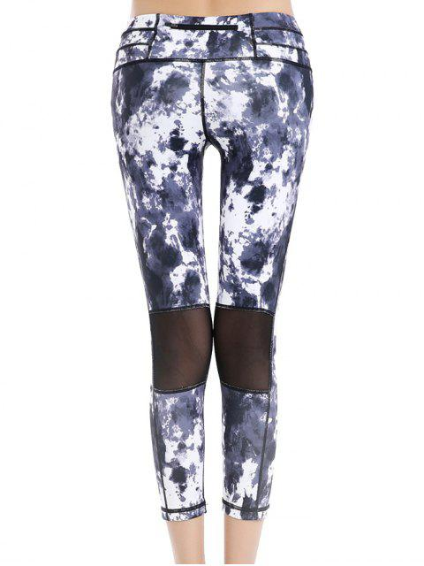 outfits Printed Cropped Leggings -   Mobile