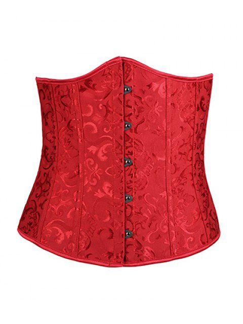 new Lace Up Hook Up Corset With Panties - RED S Mobile