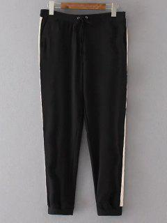 Neuvième Pantalon Jogger Décontracté   - Noir L