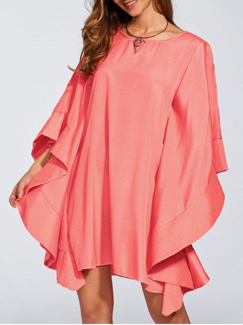 latest Kaftan Dress - WATERMELON RED S Mobile