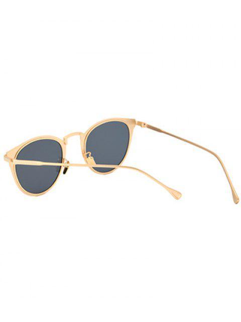 sale Metal Cat Eye Sunglasses - GOLDEN  Mobile