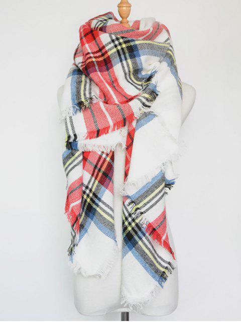 outfits Plaid Series Fringed Scarf -   Mobile