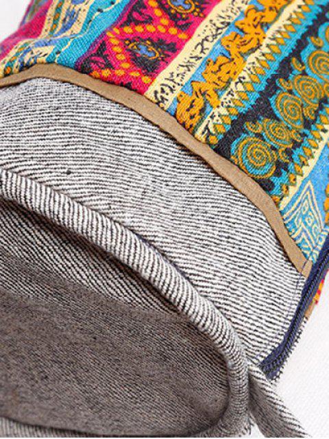 Imprimer ethnique Denim Sac bandoulière - Multicolore  Mobile