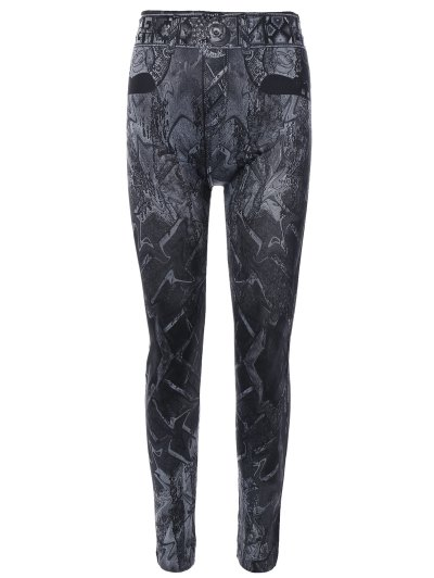 Image of Abstract Print Jeggings