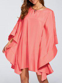 Kaftan Dress - Watermelon Red S