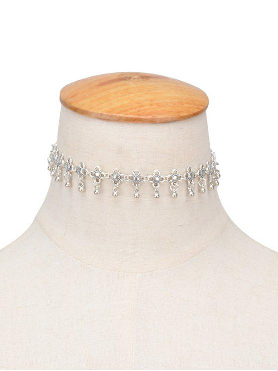 unique Chinese Knot Choker - SILVER