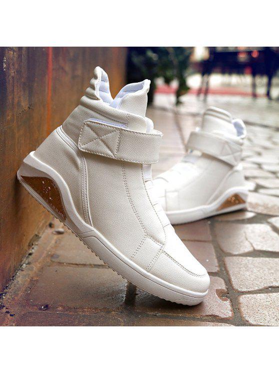 بو الجلود مطاطا الفرقة خياطة الأحذية - أبيض 42