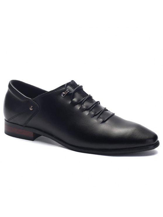 الدانتيل متابعة اصبع القدم بو الجلود والاحذية - أسود 43