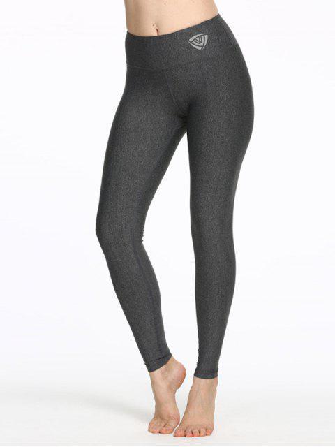 Dry-Easy polainas flacas Yoga - Gris S Mobile