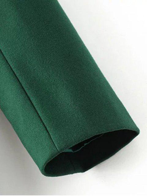 Blouson en chocolat en laine Blend - Vert M Mobile