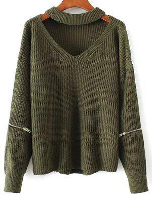 Recortable ahogador del suéter